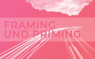 Framing und Priming: Basics der Entscheidungspsychologie im Content Marketing
